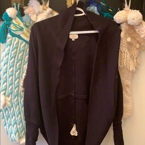 Wilfred Sweaters - Black Aritzia Wilfred Diderot Sweater